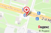 Схема проезда до компании Донсталь в Санкт-Петербурге