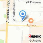 Управление строительства Ленинградской области на карте Санкт-Петербурга