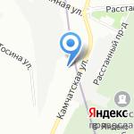 ТеплоЭнергоКонтроль на карте Санкт-Петербурга