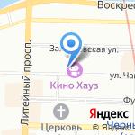Primossa на карте Санкт-Петербурга