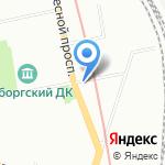 Трэйдинг Стар на карте Санкт-Петербурга