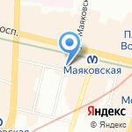 Коннессанс на карте Санкт-Петербурга