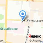Crystal bar на карте Санкт-Петербурга