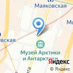 ПетроШар+ на карте Санкт-Петербурга