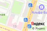 Схема проезда до компании Витамед в Санкт-Петербурге