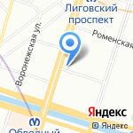#vPulkovo на карте Санкт-Петербурга