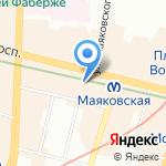Buckler & Case на карте Санкт-Петербурга