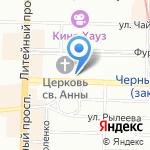 Физико-математический лицей №239 на карте Санкт-Петербурга