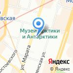 Технология на карте Санкт-Петербурга