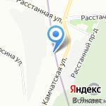 ЛароПак на карте Санкт-Петербурга