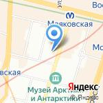 Илим на карте Санкт-Петербурга