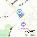 Мапэн на карте Санкт-Петербурга