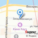 Грин лайн на карте Санкт-Петербурга