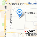 ХорошоТур на карте Санкт-Петербурга