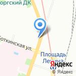 Медицинская линия на карте Санкт-Петербурга