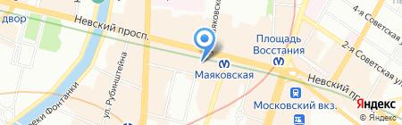Lux Invest Property на карте Санкт-Петербурга