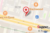 Схема проезда до компании Трианда в Санкт-Петербурге