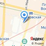 Центр профилактики наркомании на карте Санкт-Петербурга