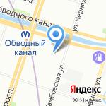 Балаяж на карте Санкт-Петербурга
