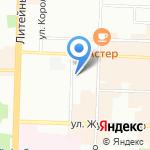 Даун-центр на карте Санкт-Петербурга