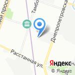Городской пункт учета граждан РФ без определенного места жительства на карте Санкт-Петербурга