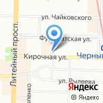 Монтак на карте Санкт-Петербурга
