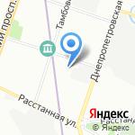 Дом народного творчества и досуга на карте Санкт-Петербурга