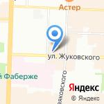 Европа-Тур на карте Санкт-Петербурга
