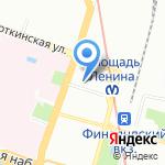 Санкт-Петербургская городская дезинфекционная станция на карте Санкт-Петербурга