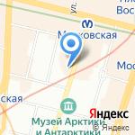 Генеральное консульство Венгрии на карте Санкт-Петербурга
