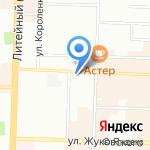 Климатстар на карте Санкт-Петербурга