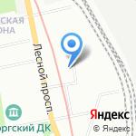 Специализированный психоневрологический дом ребенка №16 на карте Санкт-Петербурга