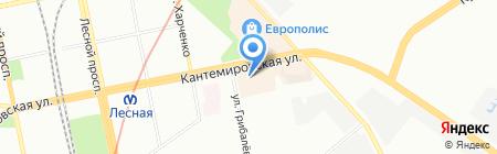 Элит-Мебель на карте Санкт-Петербурга