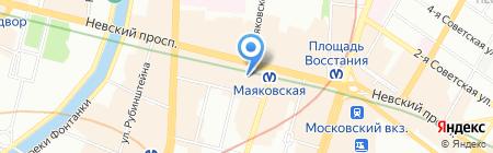 Невский Альянс на карте Санкт-Петербурга