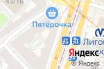 Схема проезда до компании Райский Сад в Санкт-Петербурге