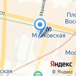 Нотариус Максимова А.С. на карте Санкт-Петербурга