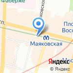 Фидбэк на карте Санкт-Петербурга