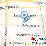 Cubicle на карте Санкт-Петербурга