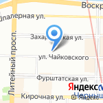 ГРАНТ на карте Санкт-Петербурга