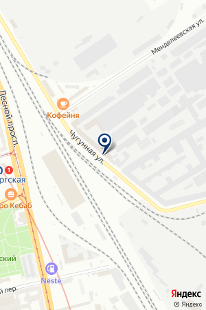 ПРОИЗВОДСТВЕННАЯ КОМПАНИЯ АБРАЗИВ-ПОЛИМЕР на карте Санкт-Петербурга