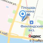 ЮДЖИКС-СЕРВИС на карте Санкт-Петербурга