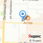 Альманар+ на карте Санкт-Петербурга