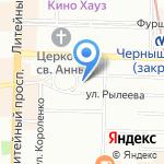 Аура на карте Санкт-Петербурга
