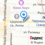 MYFINLANDVISA на карте Санкт-Петербурга