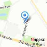 Зип-общепит на карте Санкт-Петербурга