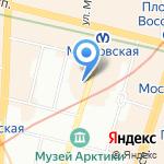 Helvetia на карте Санкт-Петербурга