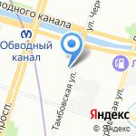 Земский Доктор на карте Санкт-Петербурга