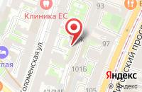 Схема проезда до компании Тренинговая школа  в Санкт-Петербурге