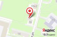 Схема проезда до компании Гэн в Санкт-Петербурге
