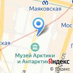 Северо-Западная Торговая Компания на карте Санкт-Петербурга